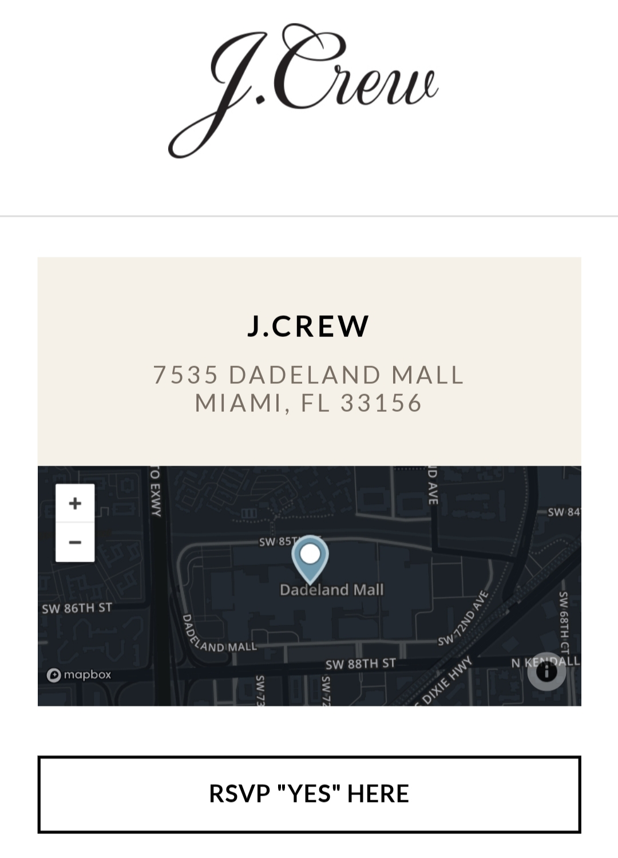 jcrew miami store