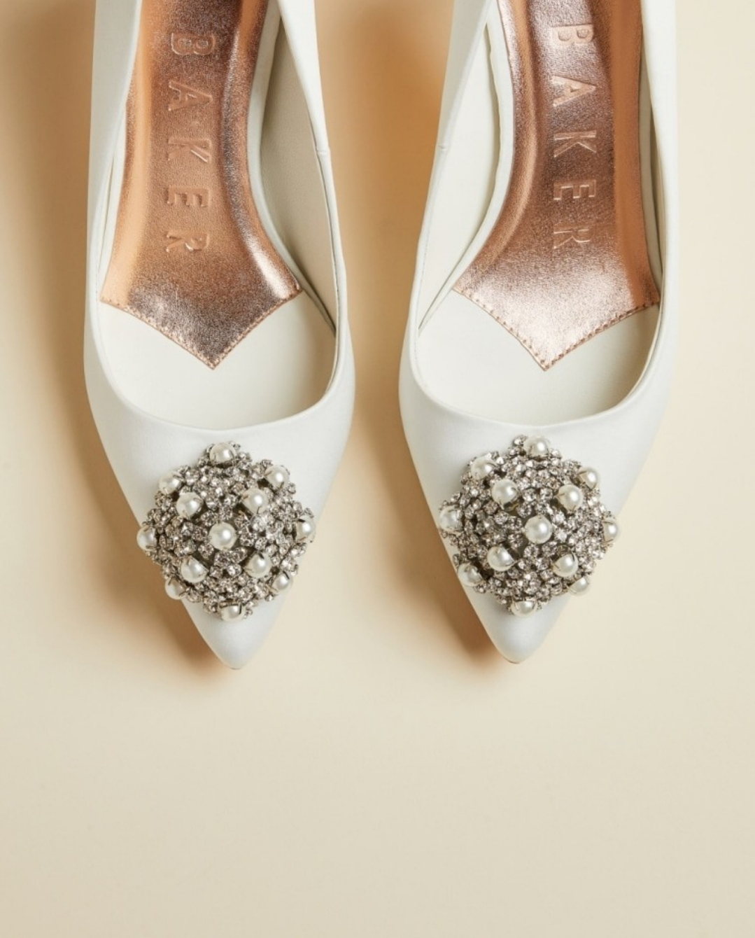 ted baker brooch detail shoes