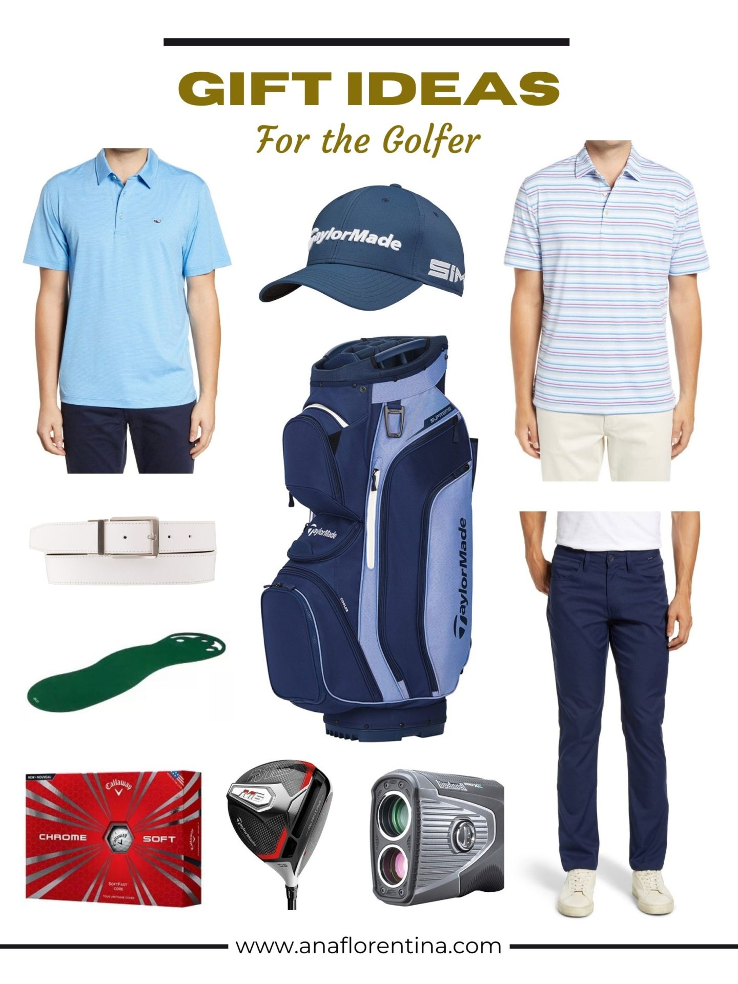 GIFT IDEAS GOLFER