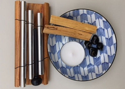 Palo Santo & Chime Space Clearing Kit