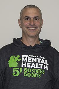 Chris Ponteri - Run/Walk Series Organizer