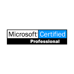 Microsoft Certified Professional badge
