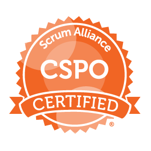 Certified Scrum Product Owner Badge