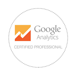 Google Analytics certification badge