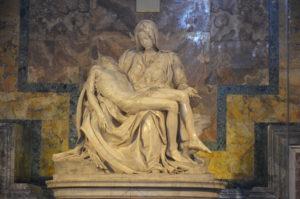 Michelangelo's Pieta, St. Peter's Basilica, The Vatican