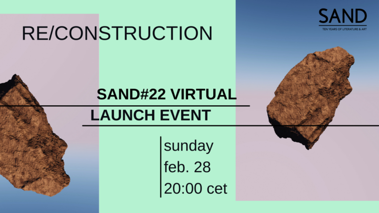 SAND 22 Launch Event promotional image