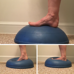 Ankle strengthening helps avoid my Achilles Tendonitis