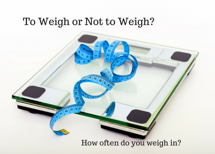 to weigh or not to weigh