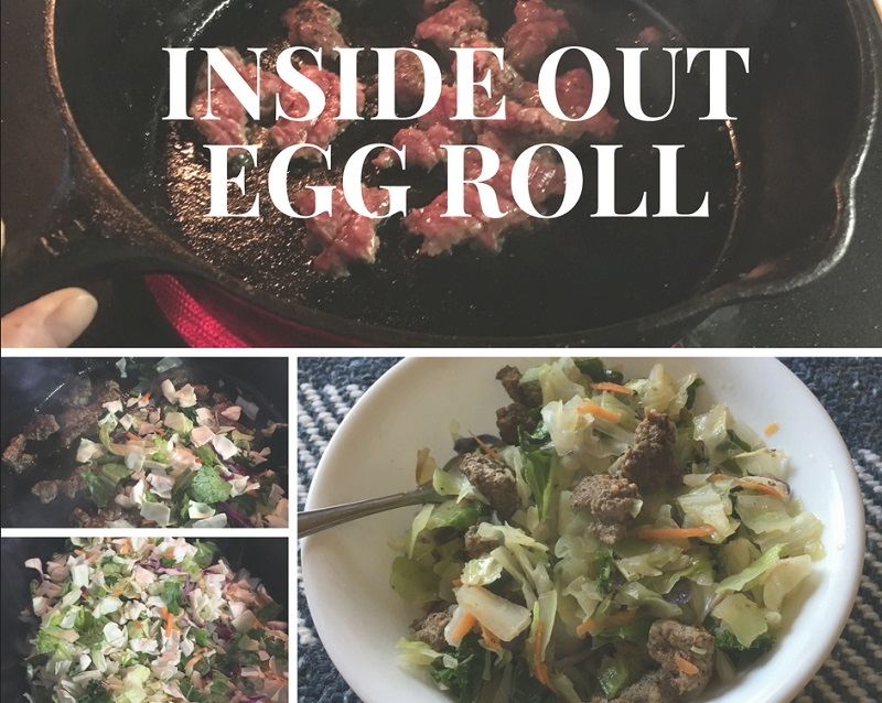 inside out egg roll