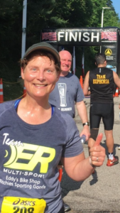 Becoming Elli - Finished strong - 2018 Twinsburg Duathlon