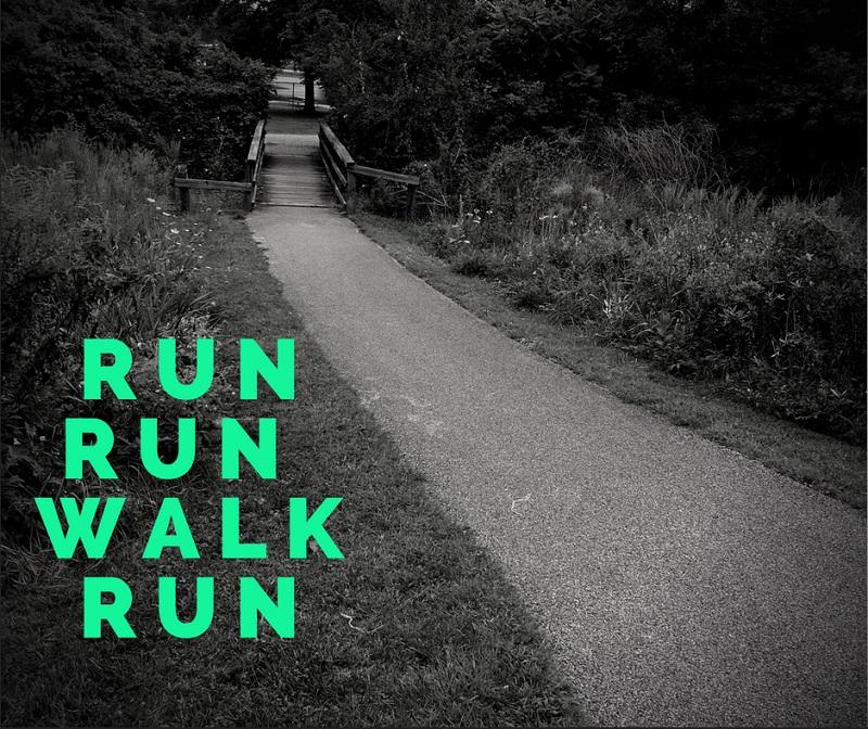 run run walk run