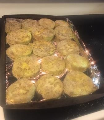 eggplant veggie challenge