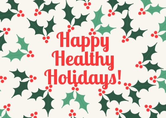 happy healthy holiday