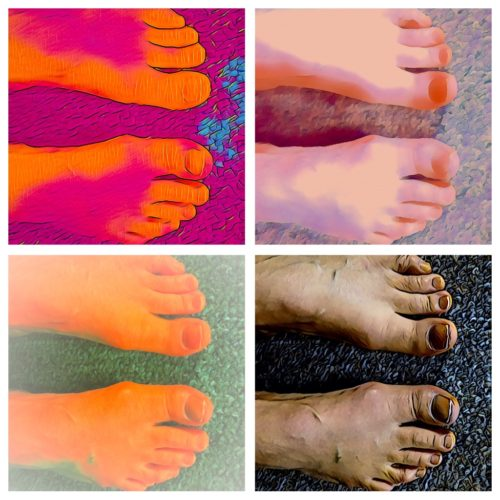 Keeping my toes happy with special exercises and exercise modifications