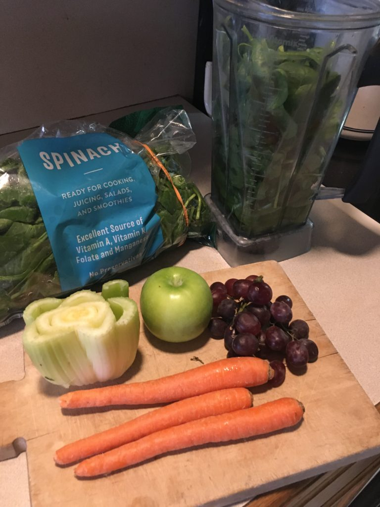 veggie and fruit smoothie
