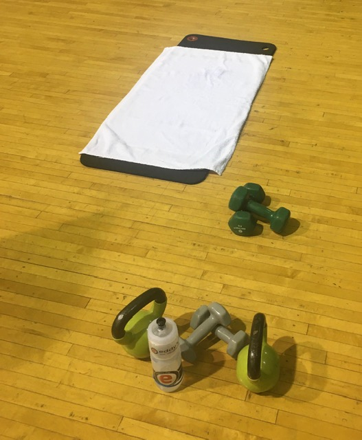 workout routines with weights and kettle bells