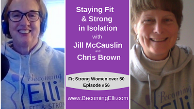 Staying Fit and Strong in Isolation with Jill McCauslin and Chris Brown