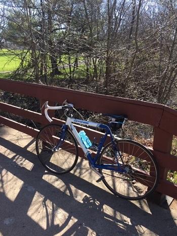 first bike ride of the season
