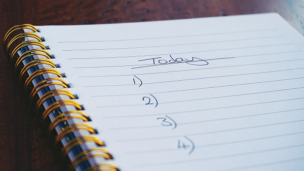 improving my schedule with a to do list