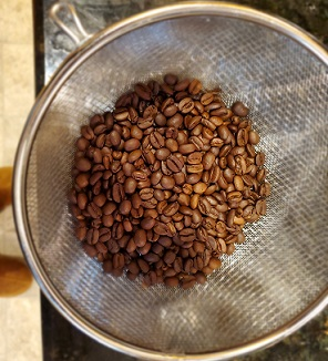 home roasting coffee beans