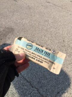 Autumn Gold grain free granola bar