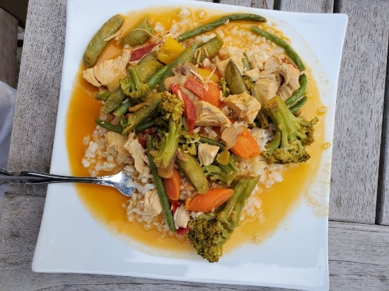 Easy Coconut Red Curry Chicken