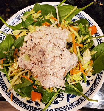 tuna and sardine salad