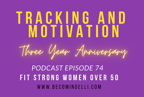 tracking and motivation 3 year anniversary