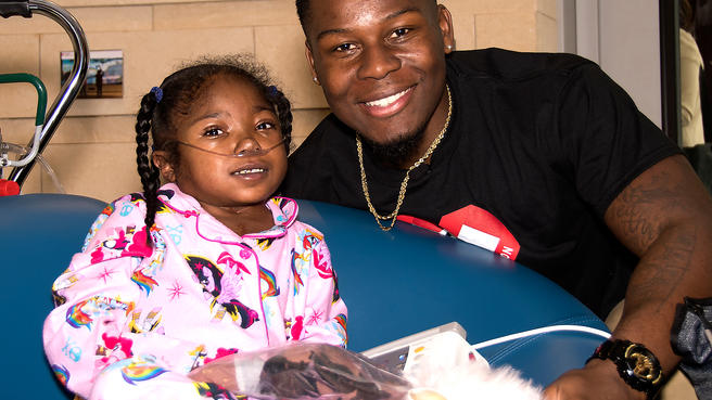 TJ Carrie Unafraid to be a Beacon to Kids After Open Heart Surgery