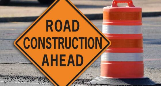 Road Construction: Lake Meadow Drive