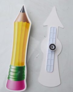 make writing fun and active with this magnetic spinner