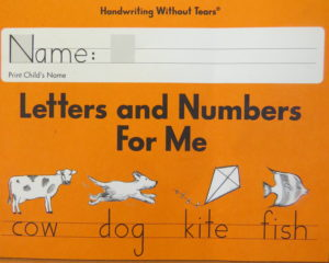 handwriting without tears workbook for strong letter strokes