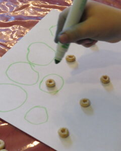 help children learn to write circles