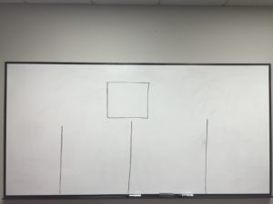 whiteboard to write quotations