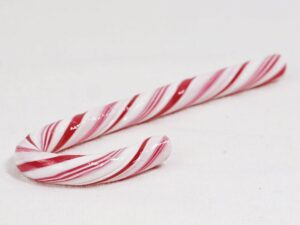 an actual candy cane