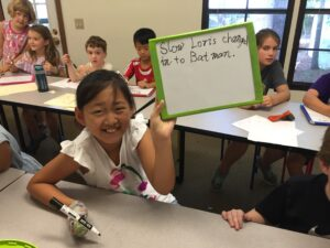 make writing active and fun with silly sentences