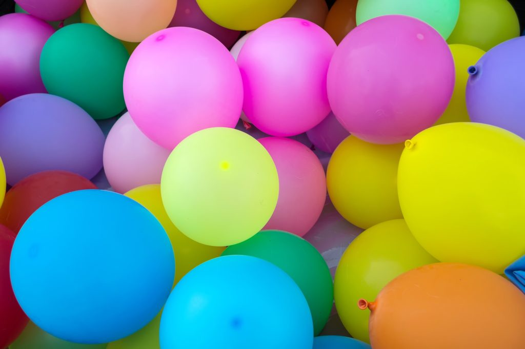 Birthday Balloons for a science fiction story