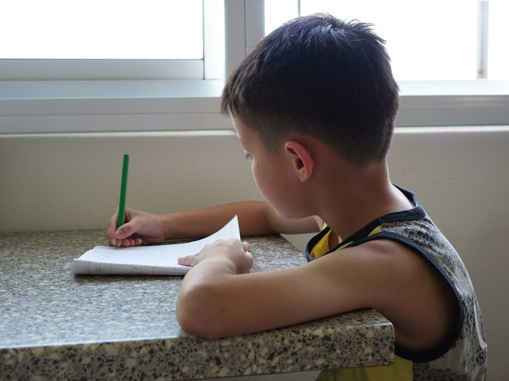 weekly writing lessons