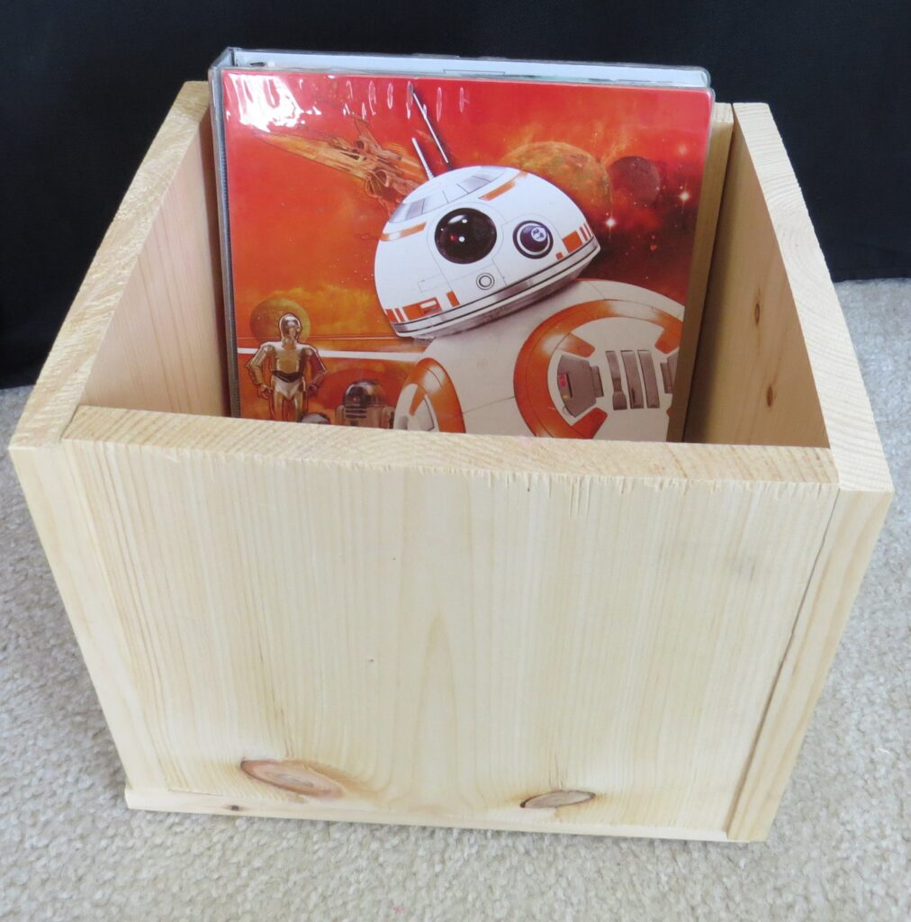 screen free activities, build a book box