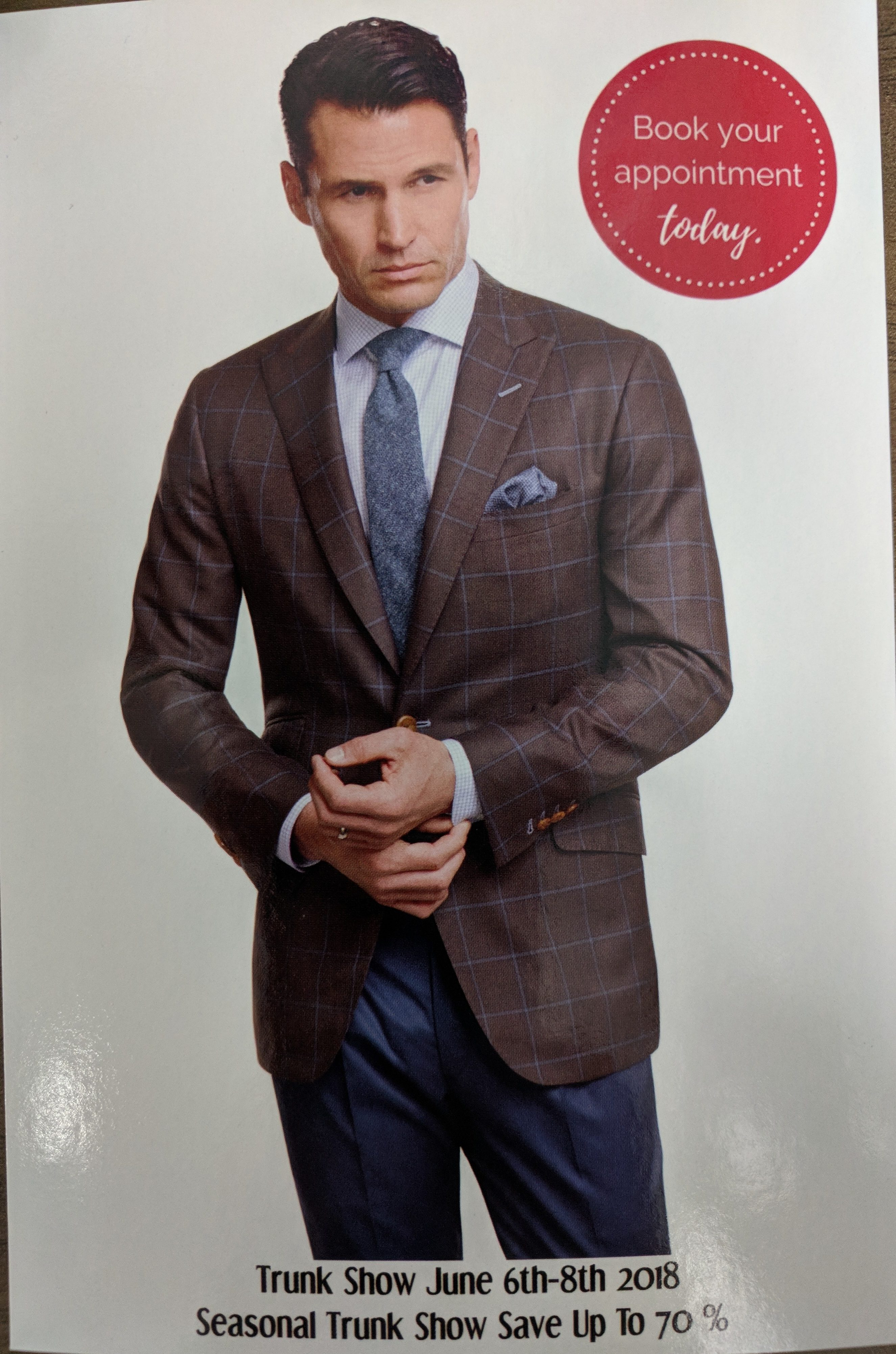Tom James Trunk Show Tampa Bay Mens Suits Shirts Ties Sale Jacket