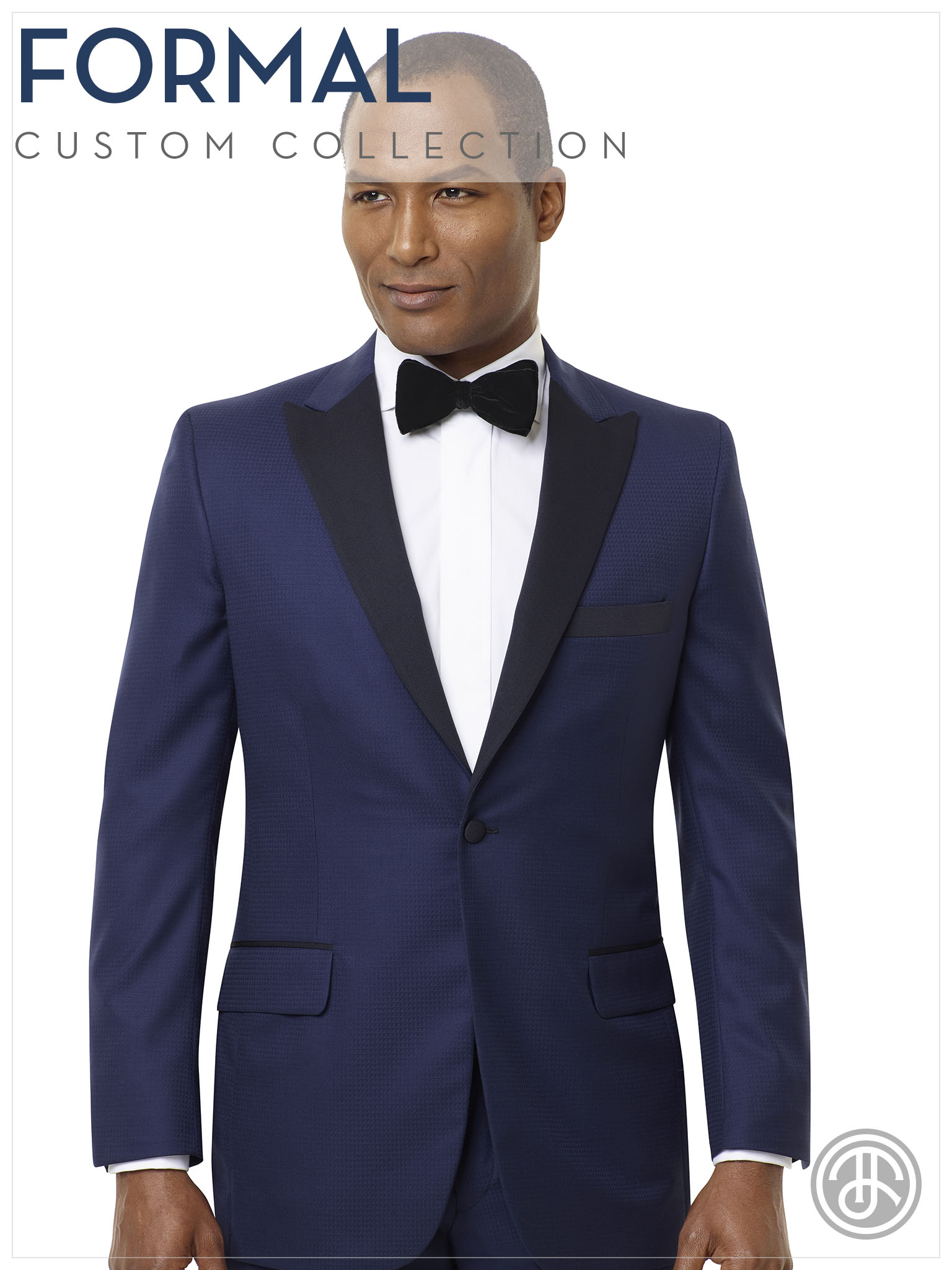 formal wear 2019 tuxedo bow tie vest blue black black watch