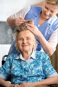 Nursing home beauty parlor