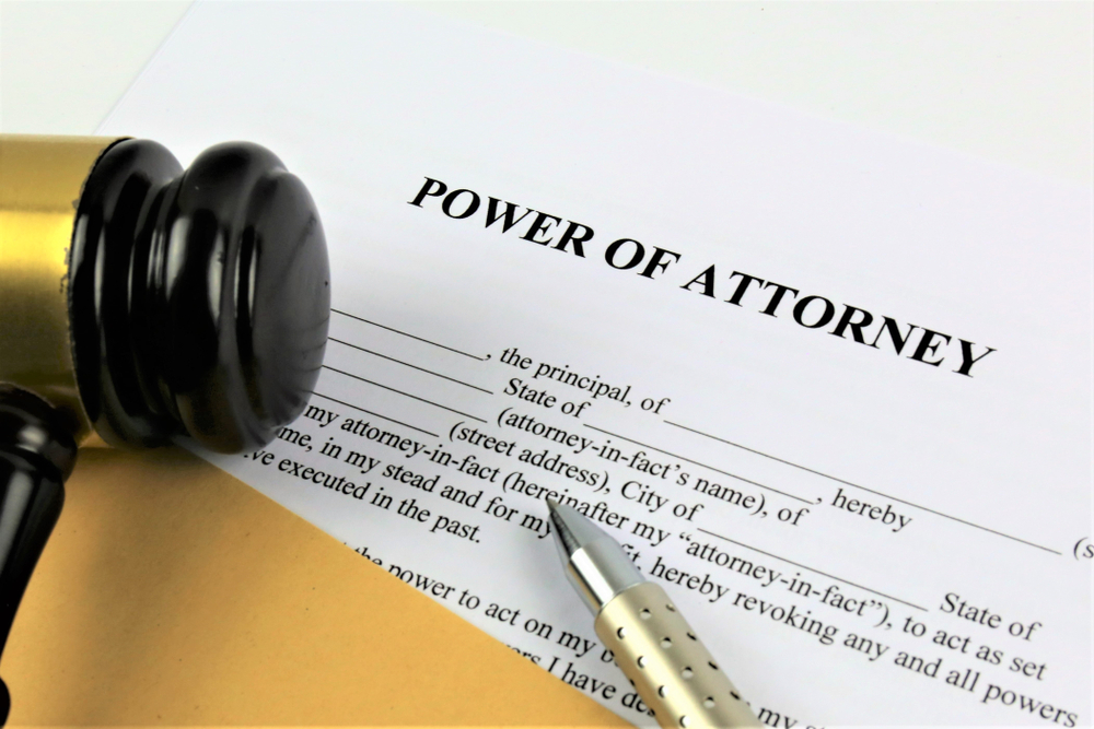 power of attorney R.F. Meyer & Associates Elder Law Probate Estate Planning