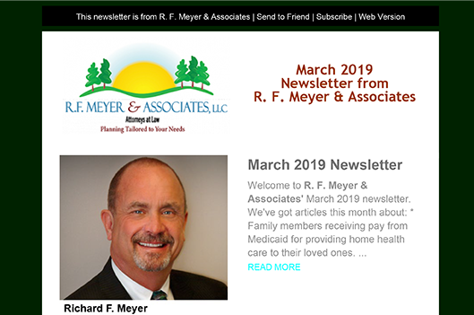 March newsletter available