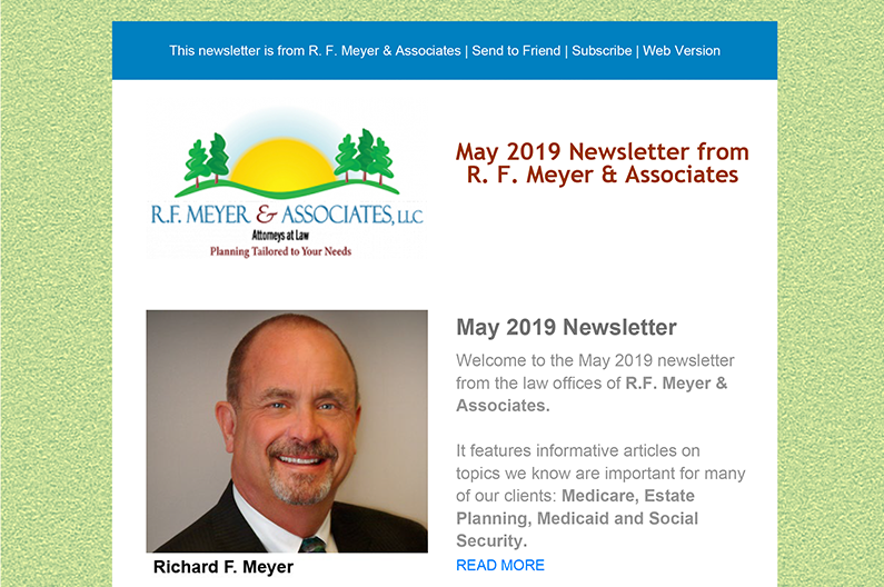 May 2019 RFMA newsletter released