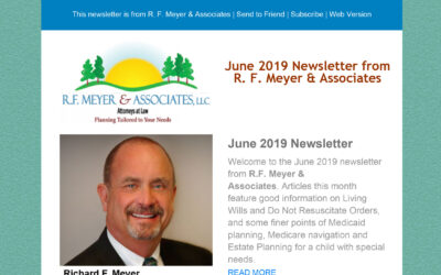 June newsletter from RFMA now available