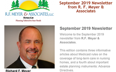 September newsletter available