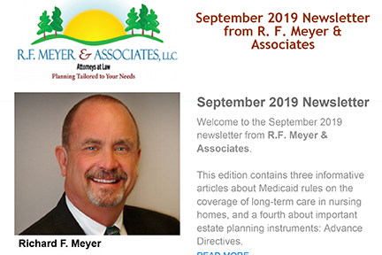 September newsletter available