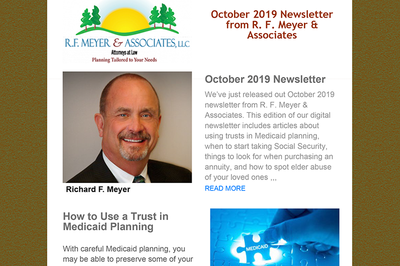 October 2019 newsletter now available