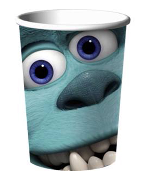 Monsters University 9 oz Paper Cups